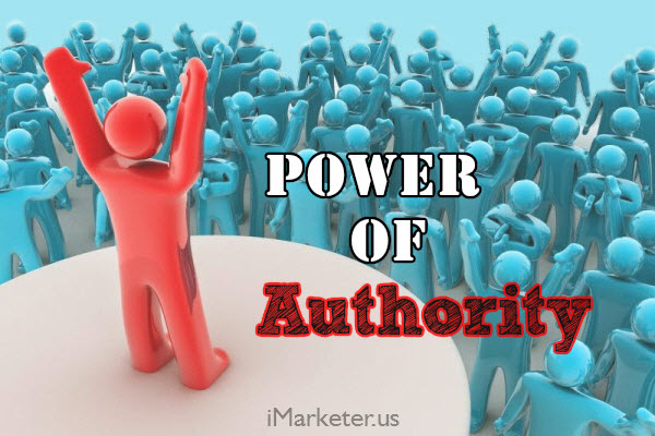 Power of Authority in Your Niche